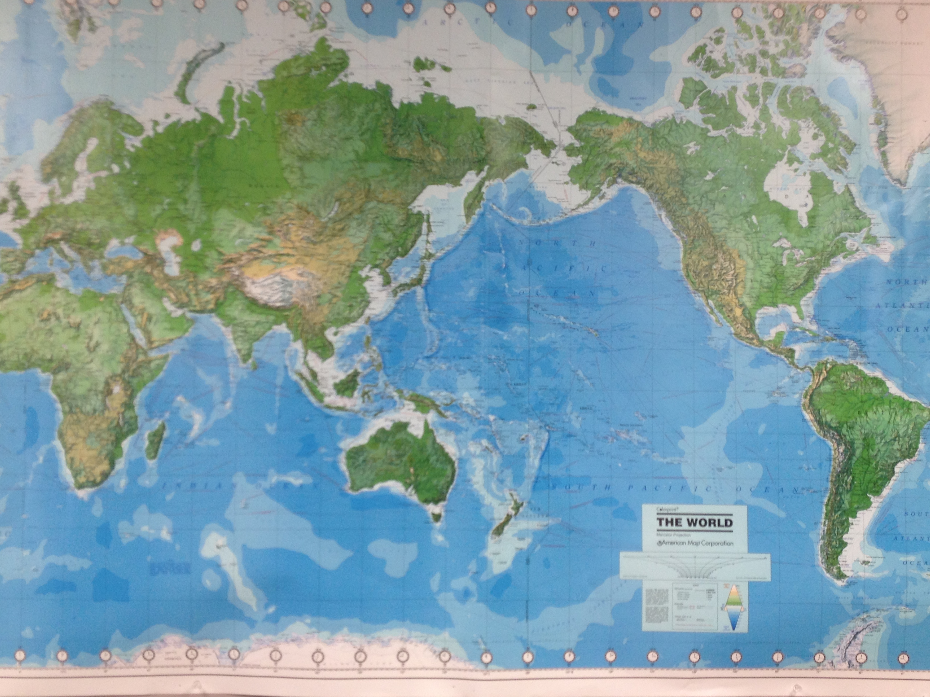 Carson Pyles, Map