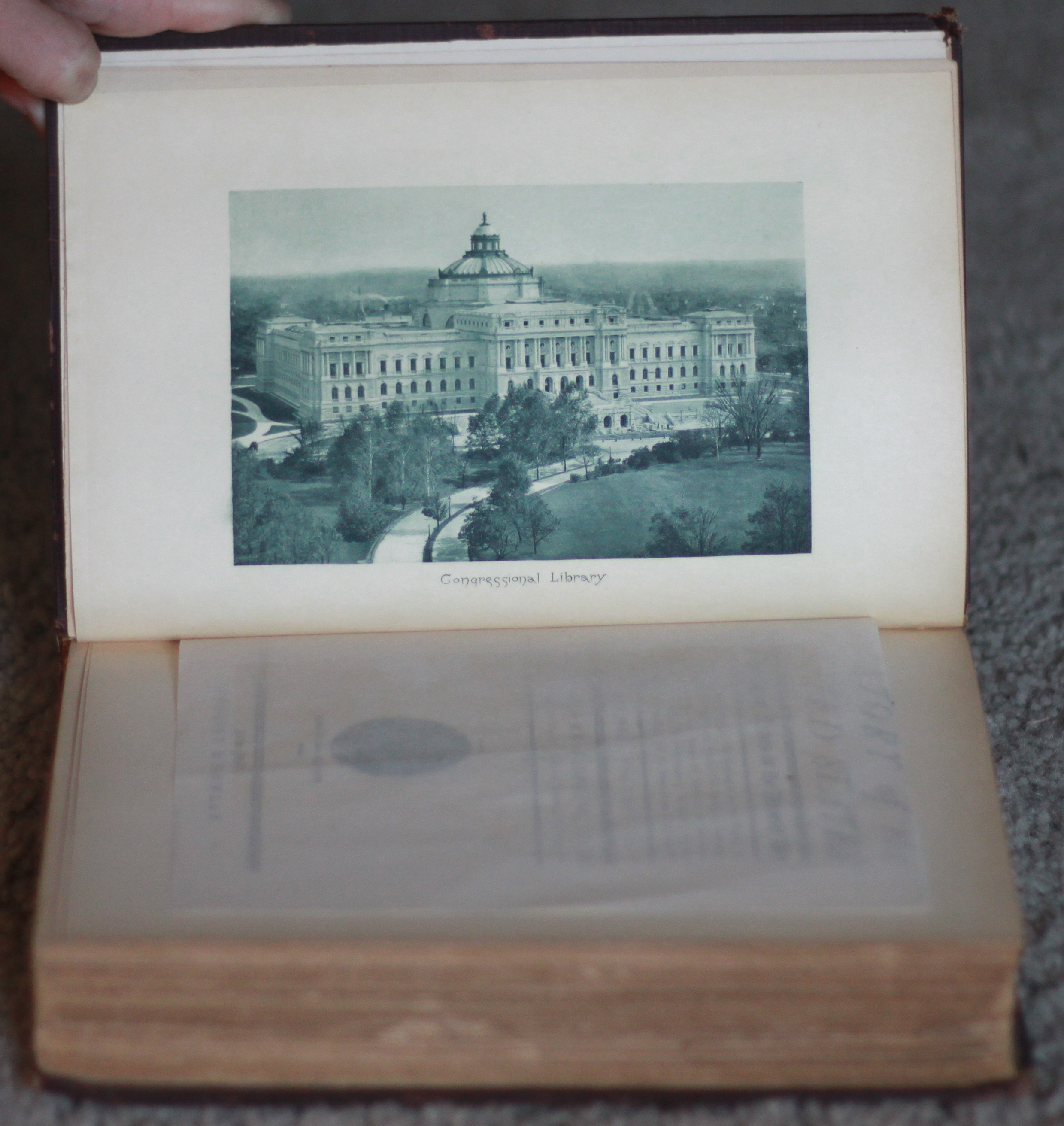 Library of Congress etching