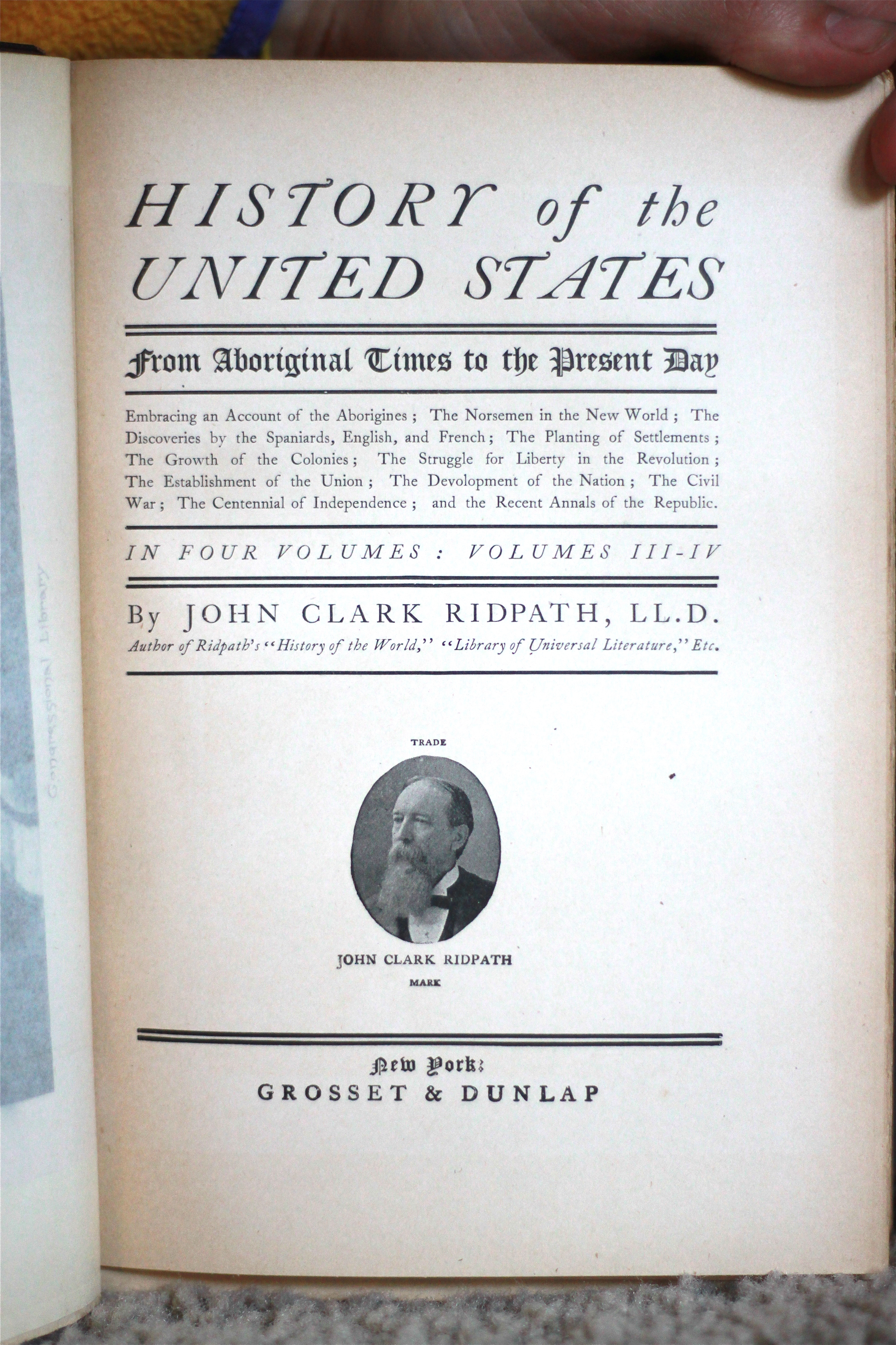 Title page and trademark