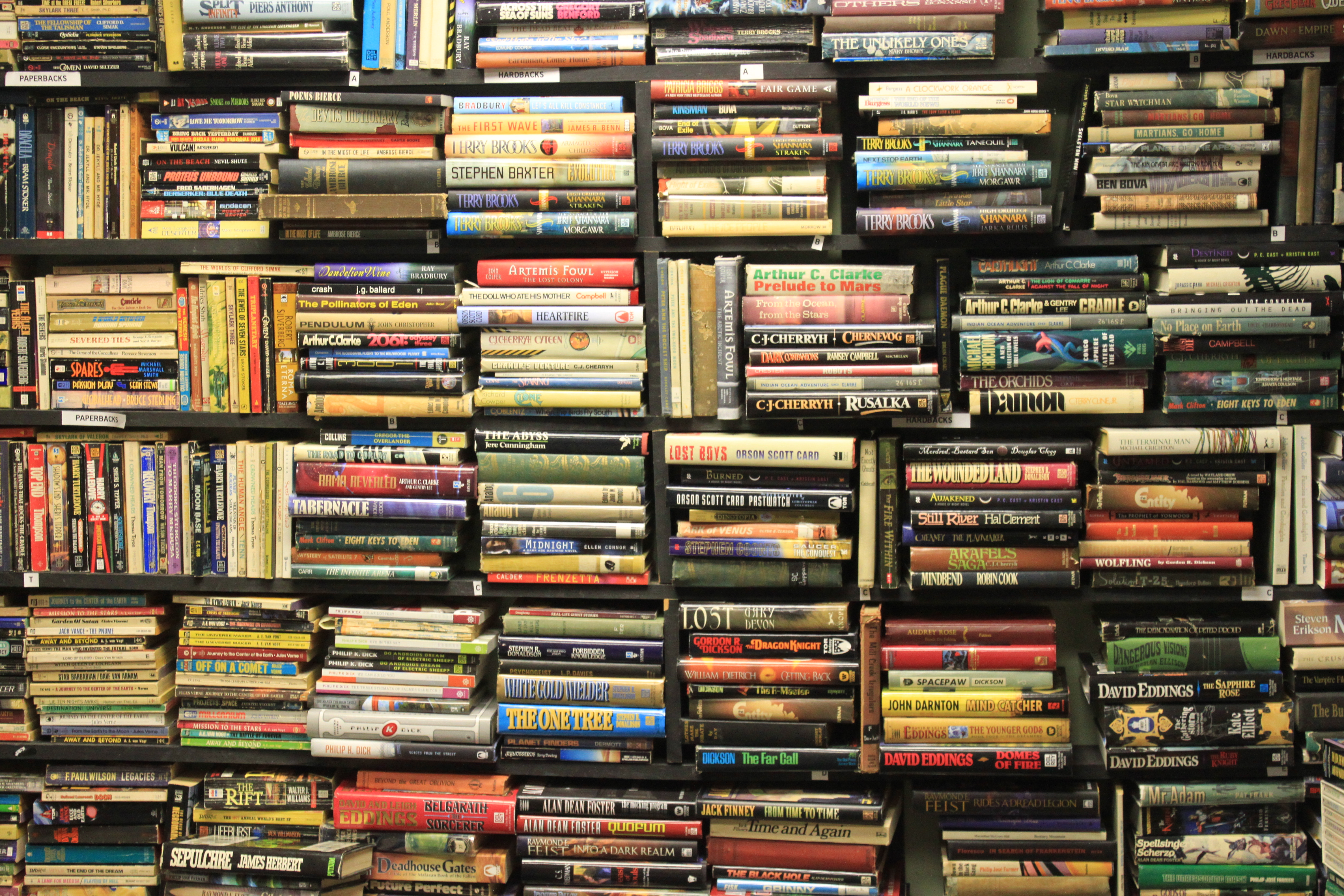 Thousands of books