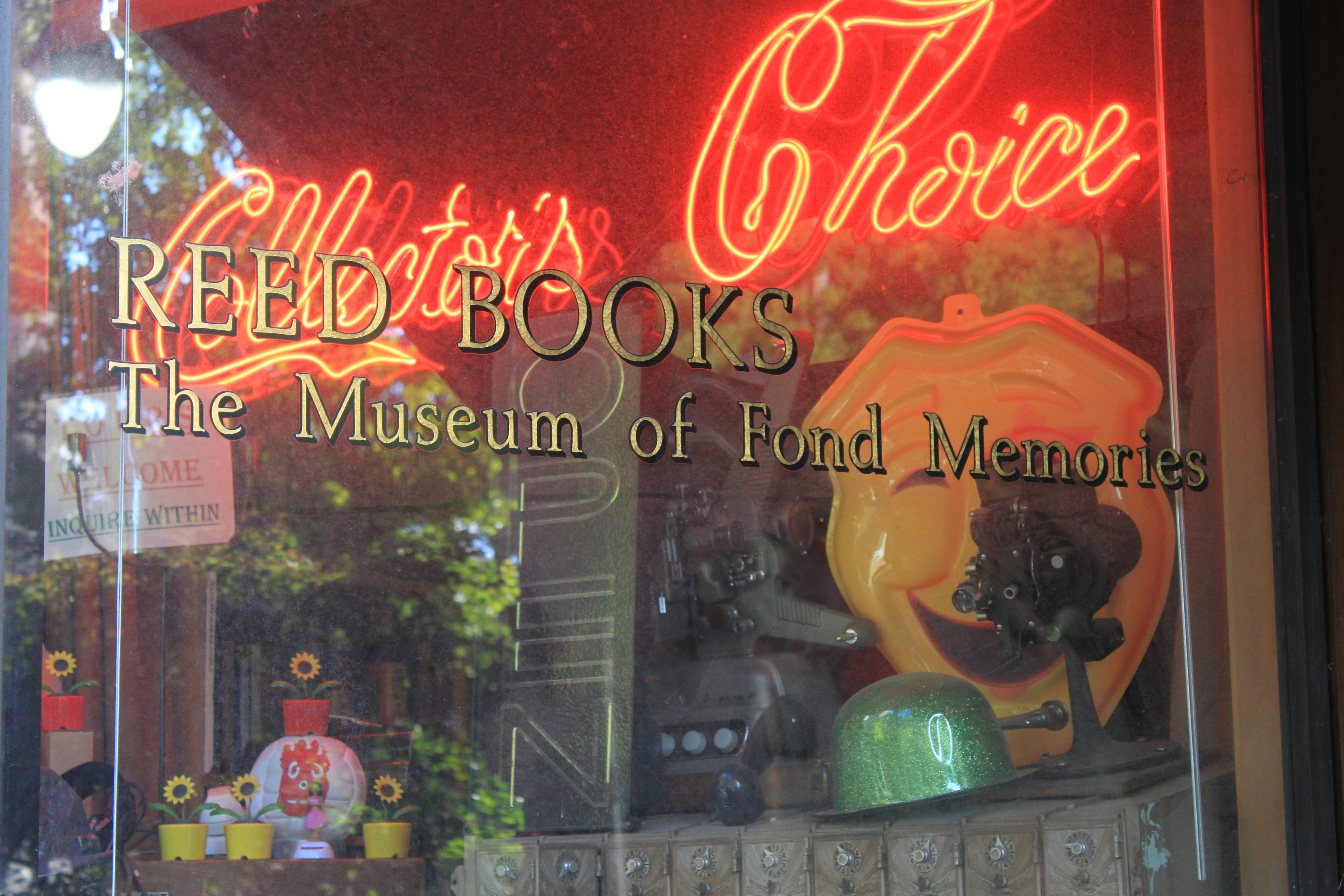 Reed Books: Museum of Fond Memories